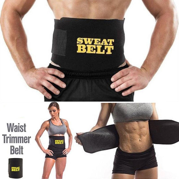 3 SweatBelt MAX™ Waist Trimmer Belt