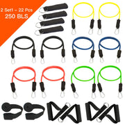 22 Pcs - 250 LBS Resistance Bands Set MAX™