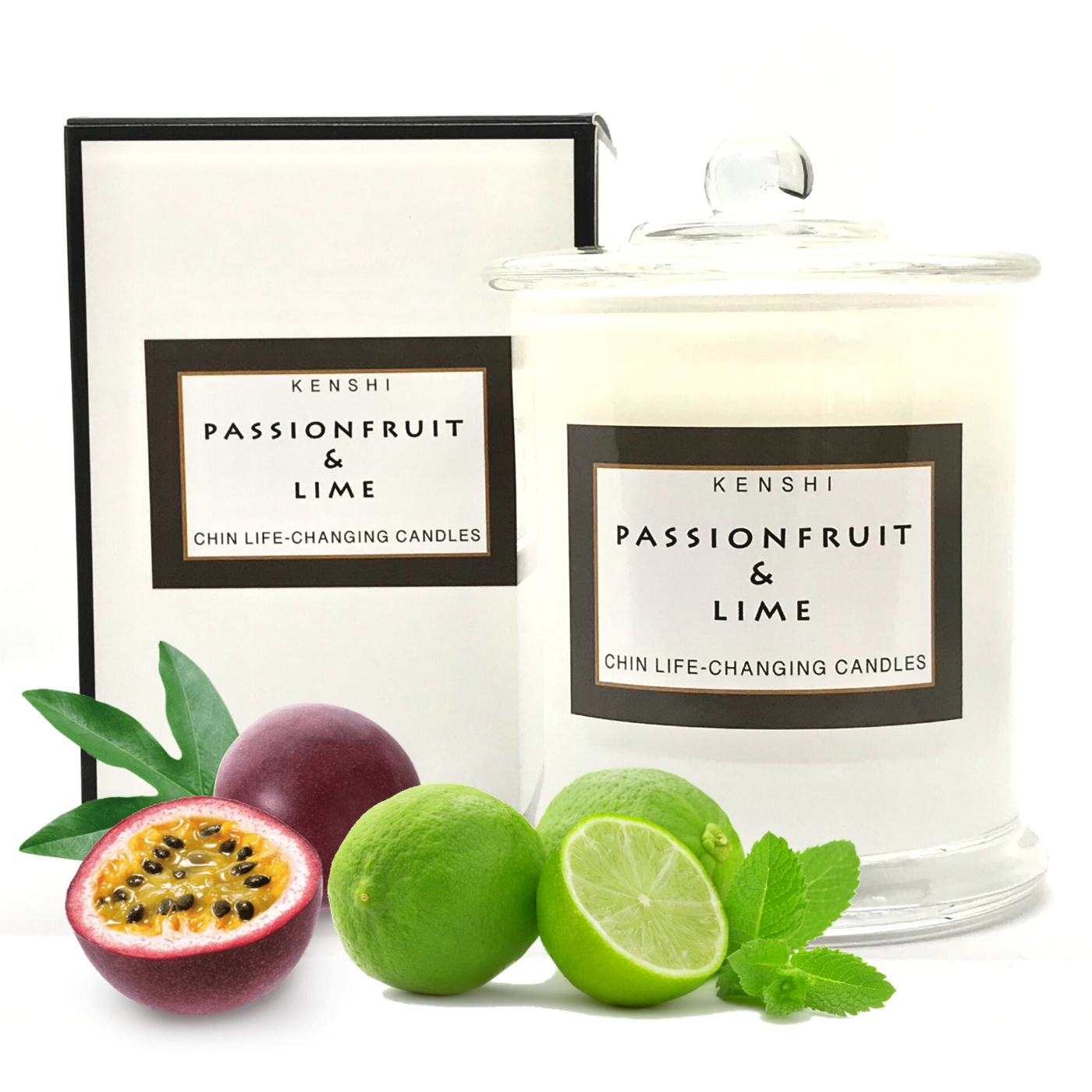 Passionfruit & Lime - Double Wick