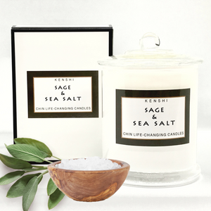 Sage & Sea Salt - Double Wick