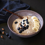 Triple Berry Oatmeal Breakfast