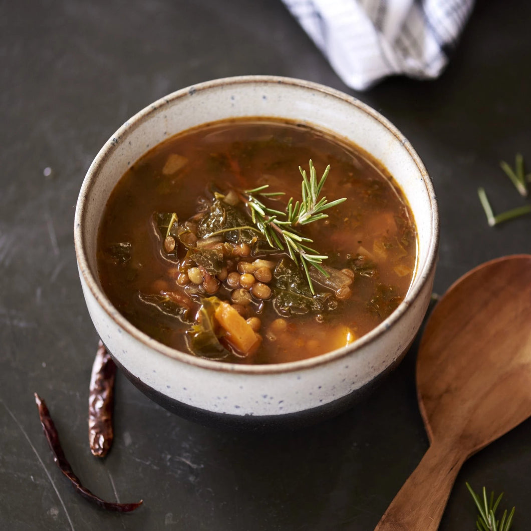 Hearty Lentil Soup - monkeyfoodz