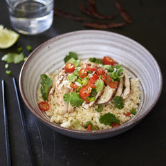 Chilli Chicken with Brown Rice