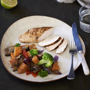 Lemon Herb Chicken with Mediterranean Vegetables