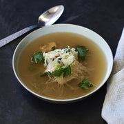 Chicken Bone Broth with Vietnamese Noodles