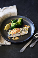 Baked Barramundi Fillet with Spicy Broccoli & Almonds - Auto Renew -