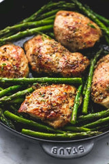 Grilled Chicken with Green Beans