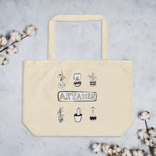 Load image into Gallery viewer, Artaxis tote bag designed by Didem Mert