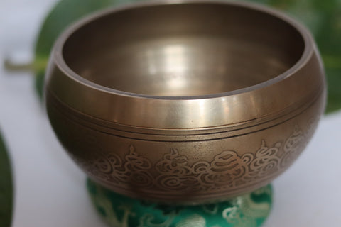 Singing Bowl 3-Metal large