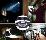 Mini Rechargeable LED Headlamp 4000 Lumens