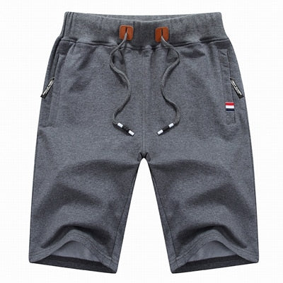 Athletic Cotton Shorts