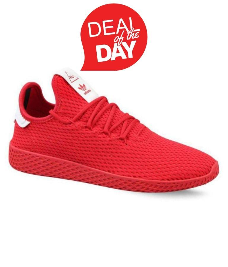 e44ea0bcb06e8 Pharrell Williams Sneakers Red Training Shoes – SHOES FACTORY