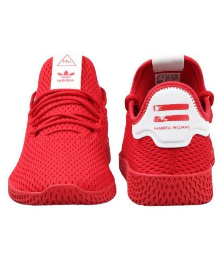 e48106bf56536 Adidas Pharrell Williams Sneakers Red Training Shoes Nike Sports. Next