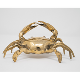 Decoratieve Krab Goud