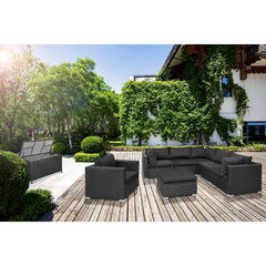 6-persoons Wicker Loungeset Giulio