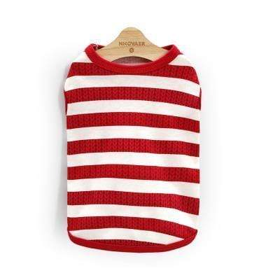 Max and Maci's Store 12 / L Striped Pet Clothing For Small or Medium Dog