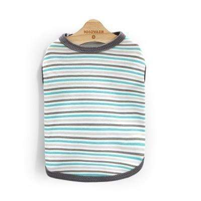 Max and Maci's Store 2 / L Striped Pet Clothing For Small or Medium Dog
