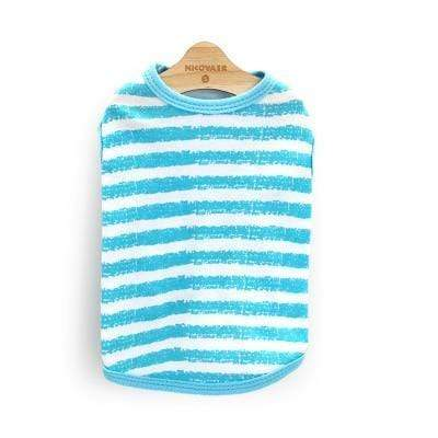 Max and Maci's Store 4 / L Striped Pet Clothing For Small or Medium Dog