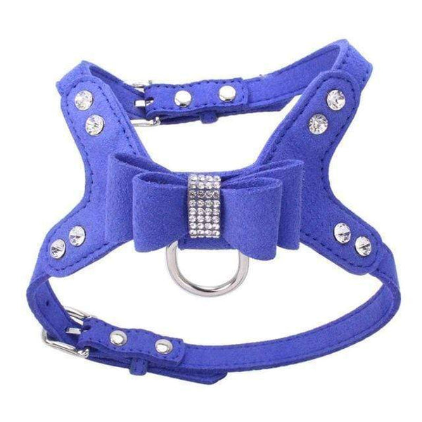 Bling Rhinestone Pet Puppy Dog Harness - Max and Maci's Store