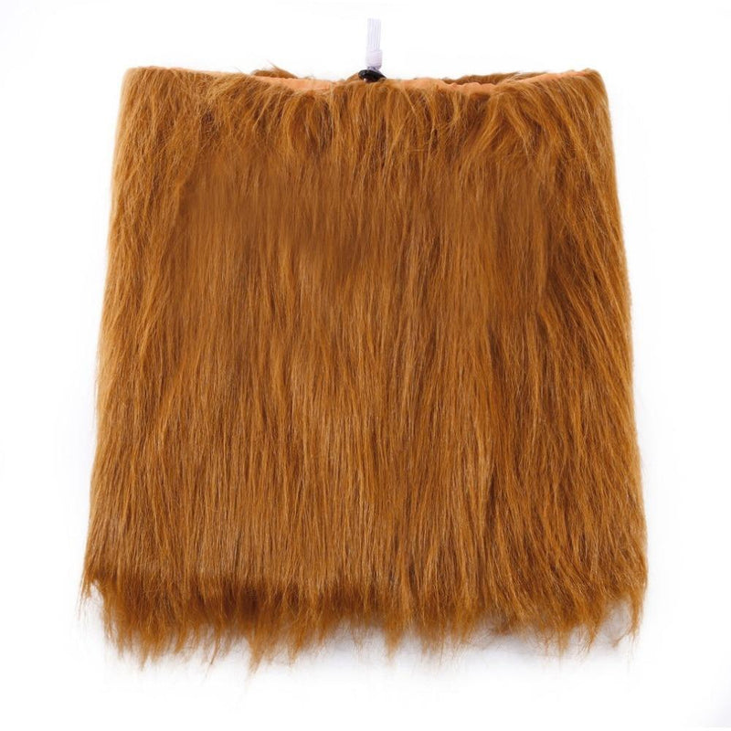 Max and Maci's Store Dog Accessories Large Dog Lion Wigs Mane Hair Scarf