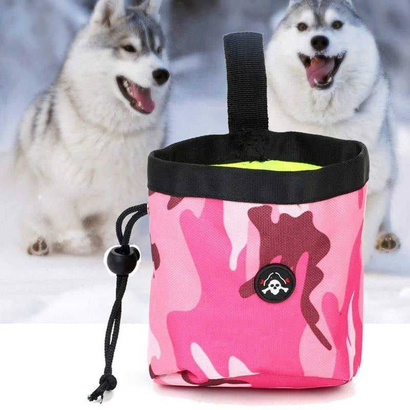Max and Maci's Store Dog Accessories Portable Dog Training Pouch Treat Bag