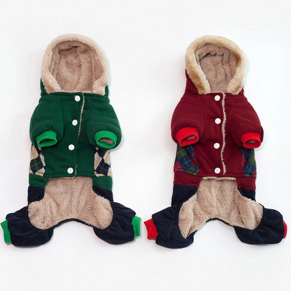 Autumn And Winter New Dog Cotton Coat - Max and Maci's Store