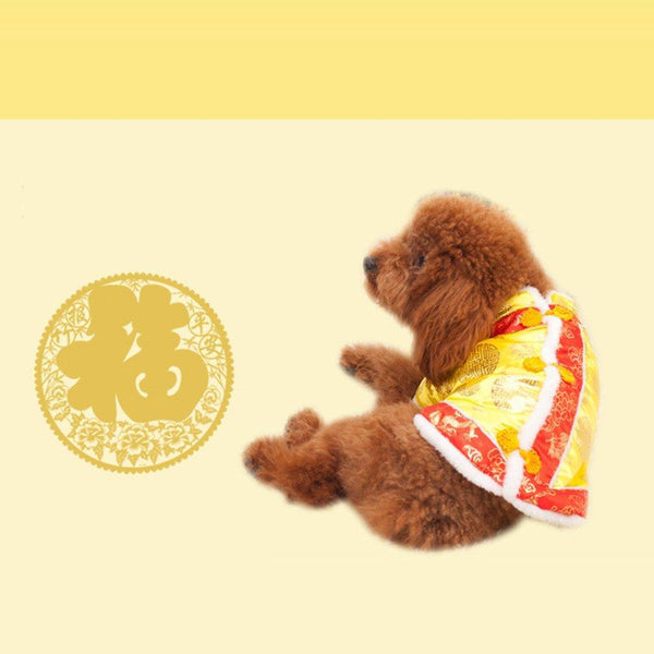 Dog Tang Costume Cute Design Breathable Teddy - Max and Maci's Store