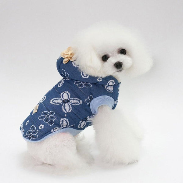 Fashion Dog Clothes Denim Cotton Jacket - Max and Maci's Store