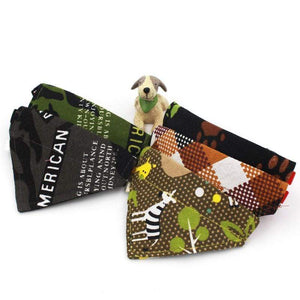Max and Maci's Store Dog Collar Adjustable Dog Cat Cotton Towel
