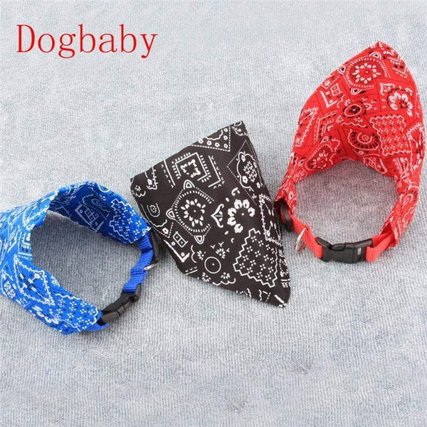 Adjustable Puppy Neck Training Printing Dog Collars - Max and Maci's Store