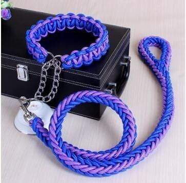 Personalized Shepherd Rope Large Dog Leashes - Max and Maci's Store
