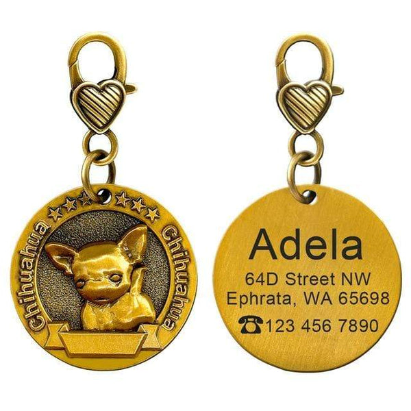 Personalized Dog Id Customized Tags - Max and Maci's Store