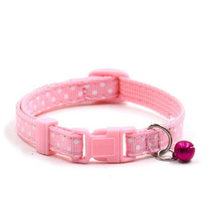 Max and Maci's Store Dog Collar D / Free Dog Necklace Dots Pattern Hot Cute Pet Puppy Collar
