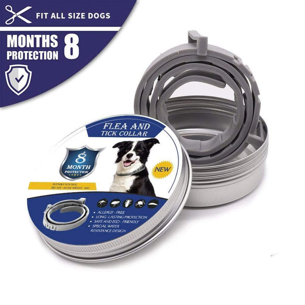 Dog Collar Anti Flea Ticks Mosquitoes Outdoor Protective - Max and Maci's Store