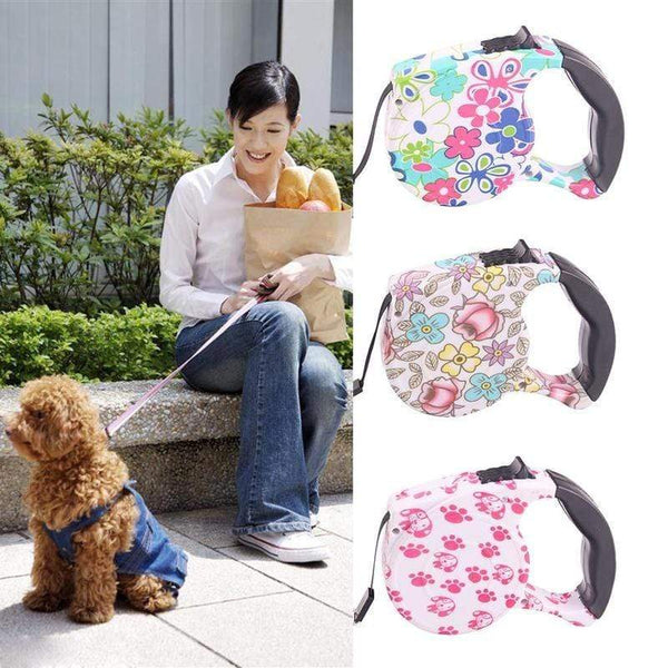 Dogs Collar Leash Automatic Retractable - Max and Maci's Store