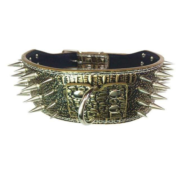 7.5Cm Spiked Large Dogs Collars - Max and Maci's Store