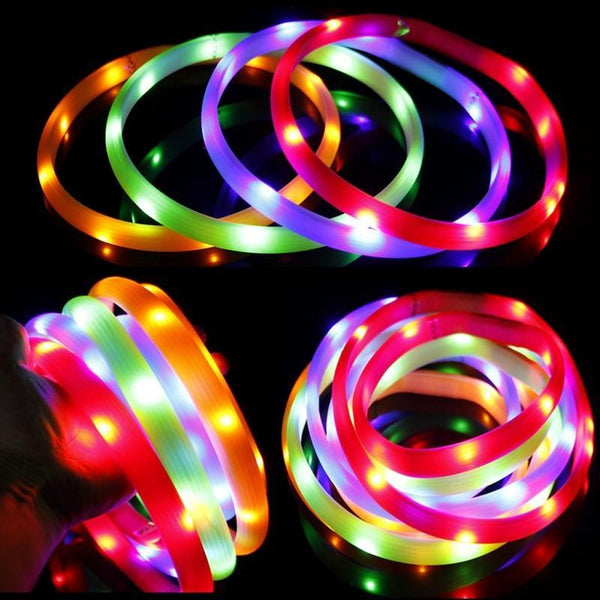 Led Pet Collar For Safety Night Walking - Max and Maci's Store