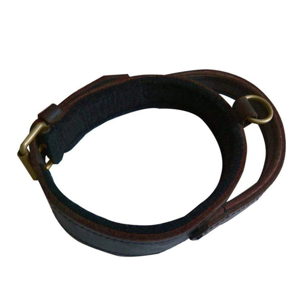 Genuine Leather Dog Collar For Walking & Training - Max and Maci's Store
