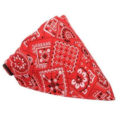 Max and Maci's Store Dog Collar Red / L Adjustable Puppy Neck Training Printing Dog Collars