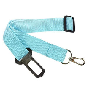 Max and Maci's Store Dog Collar sky blue / Adjustable Adjustable 1 x Pet Safety Seat Belt