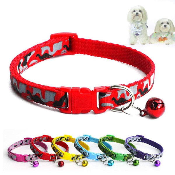 Soft Colorful Pet Dog Collar For Small - Max and Maci's Store