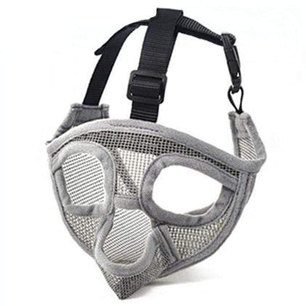 Comfortable Adjustable Breathable  Short Snout Dog Muzzles - Max and Maci's Store