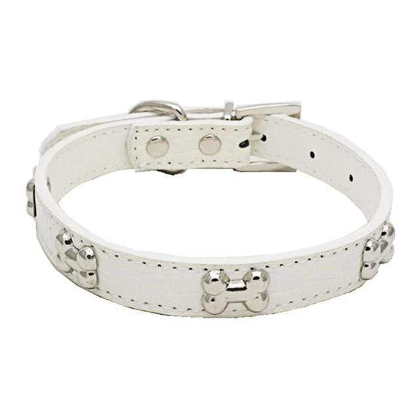 Pu Leather Pet Collar For Puppy Cat - Max and Maci's Store