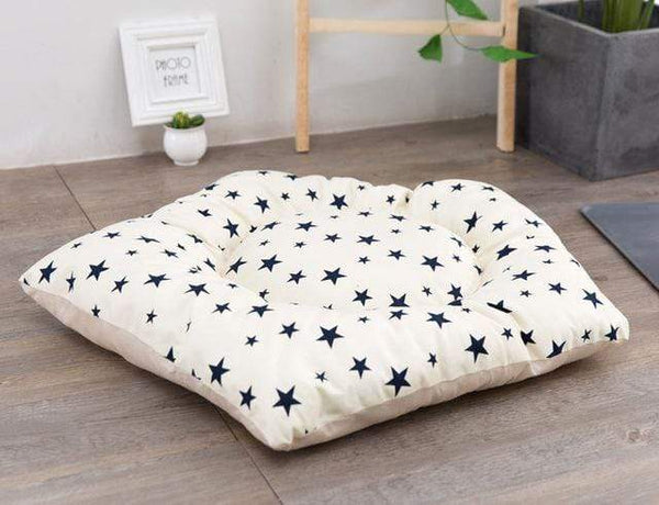 Pentagram Shape Mattress Cotton Warm Sleeping Dog Bed Mats - Max and Maci's Store