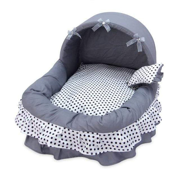 Comfortable Luxury Princess Basket Dog Bed - Max and Maci's Store