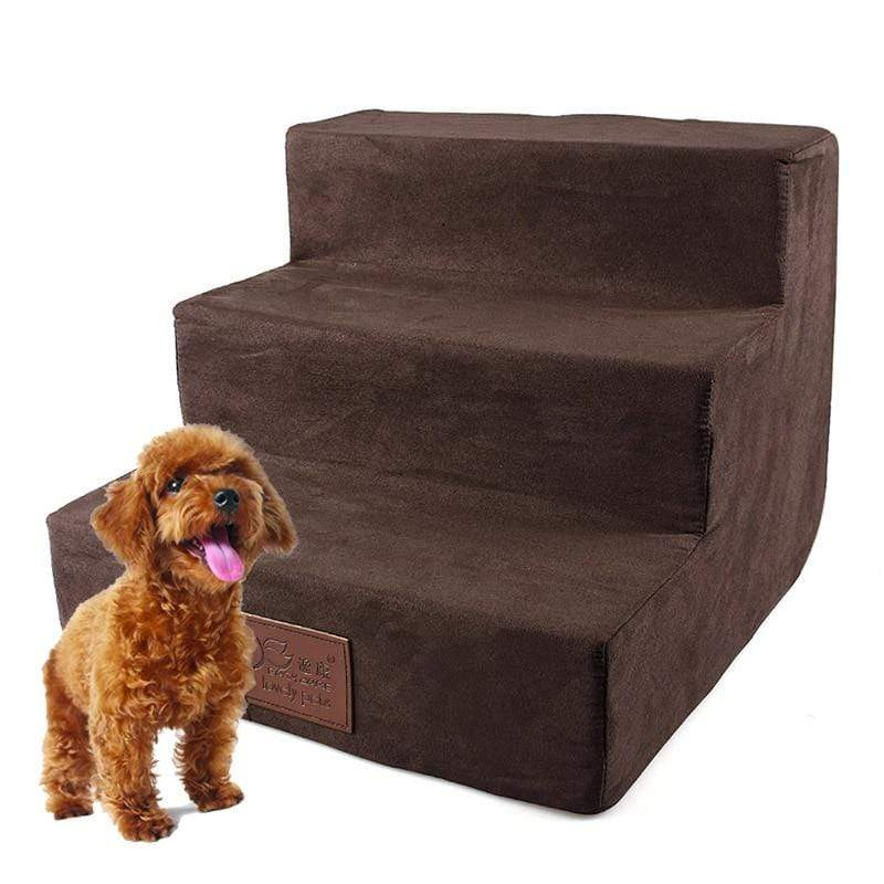 Max and Maci's Store Dog Doors, Houses & Furniture 3 Steps Ladder Dog Stairs