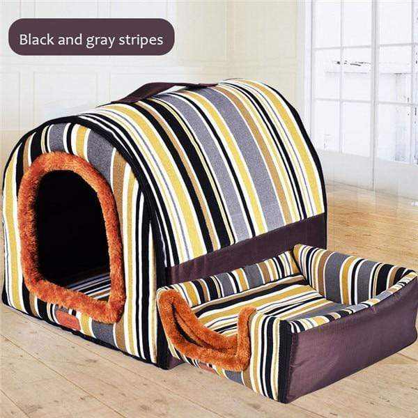 Max and Maci's Store Dog Doors, Houses & Furniture 5 / S Comfortable Print Stars Kennel Dog Mat