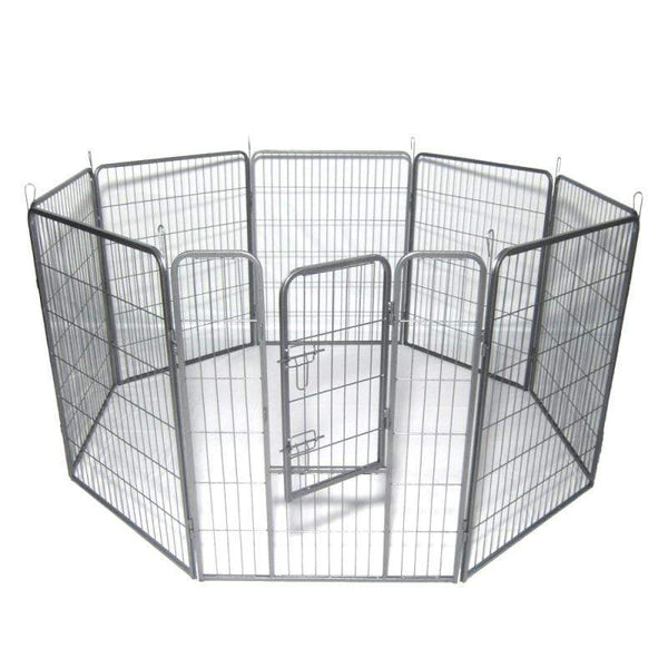 8 Panel Heavy Duty Portable Pet Playpen - Max and Maci's Store
