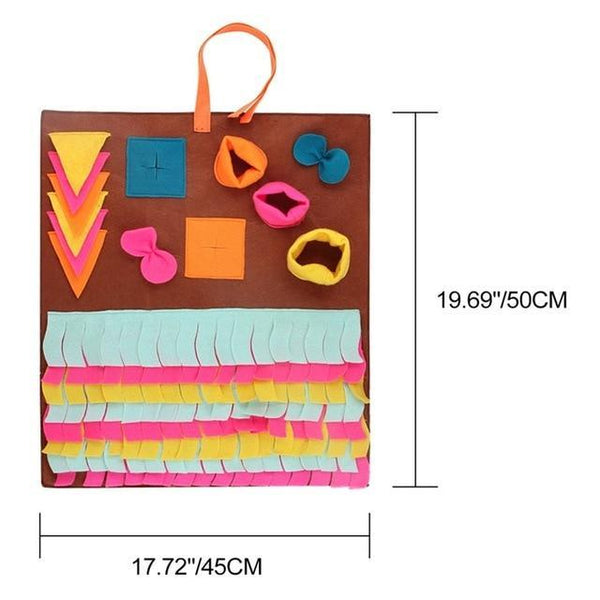 Candy Color Cat Dog Snuffle Mat - Max and Maci's Store
