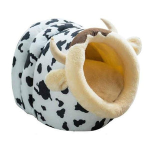 Max and Maci's Store Dog Doors, Houses & Furniture Cow / S Soft Warm Winter Puppy Kennel Bed and Sleeping Bag